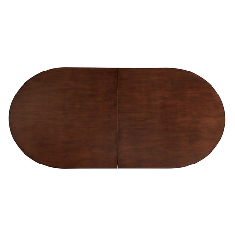 Evan contemporary brown cherry rectangle poker game table