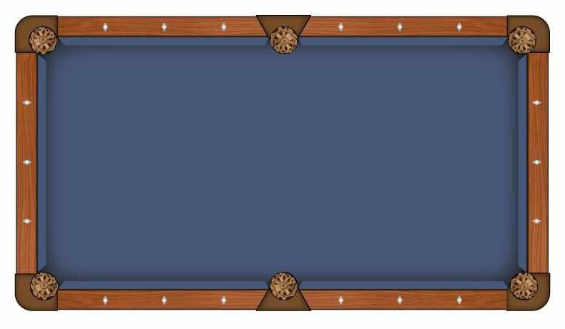 Hainsworth Classic Series - Cadet Blue Pool Table Cloth