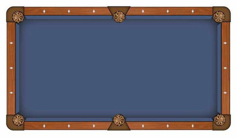 Image of Hainsworth Classic Series - Cadet Blue Pool Table Cloth