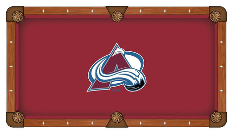 Colorado Avalanche Pool Table Cloth