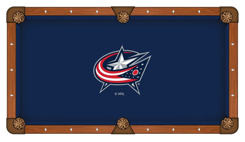 Columbus Blue Jackets Pool Table Cloth