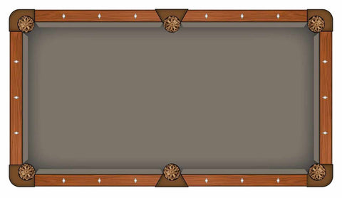 Image of Hainsworth Elite Pro - Bankers Grey Pool Table Cloth