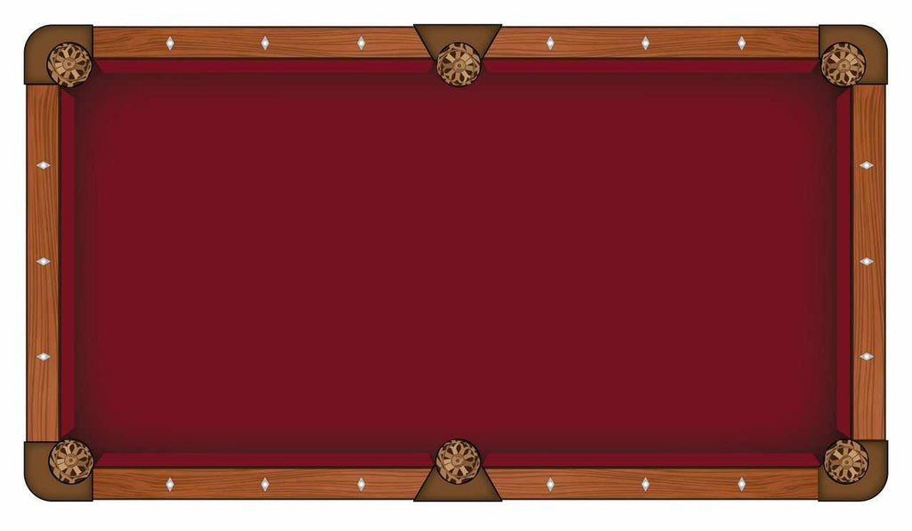 Hainsworth Elite Pro - Burgundy Pool Table Cloth