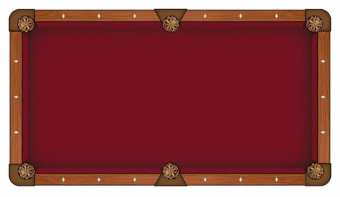Image of Hainsworth Elite Pro - Burgundy Pool Table Cloth