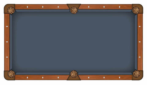 Image of Hainsworth Elite Pro - Cadet Blue Pool Table Cloth