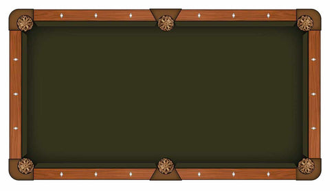 Image of Hainsworth Elite Pro - Chocolate Pool Table Cloth