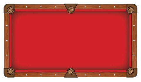 Image of Hainsworth Elite Pro - Red Pool Table Cloth