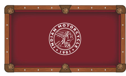 Indian Motorcycle (Outline) Pool Table Cloth