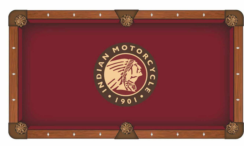 Indian Motorcycle 8' Pool Table