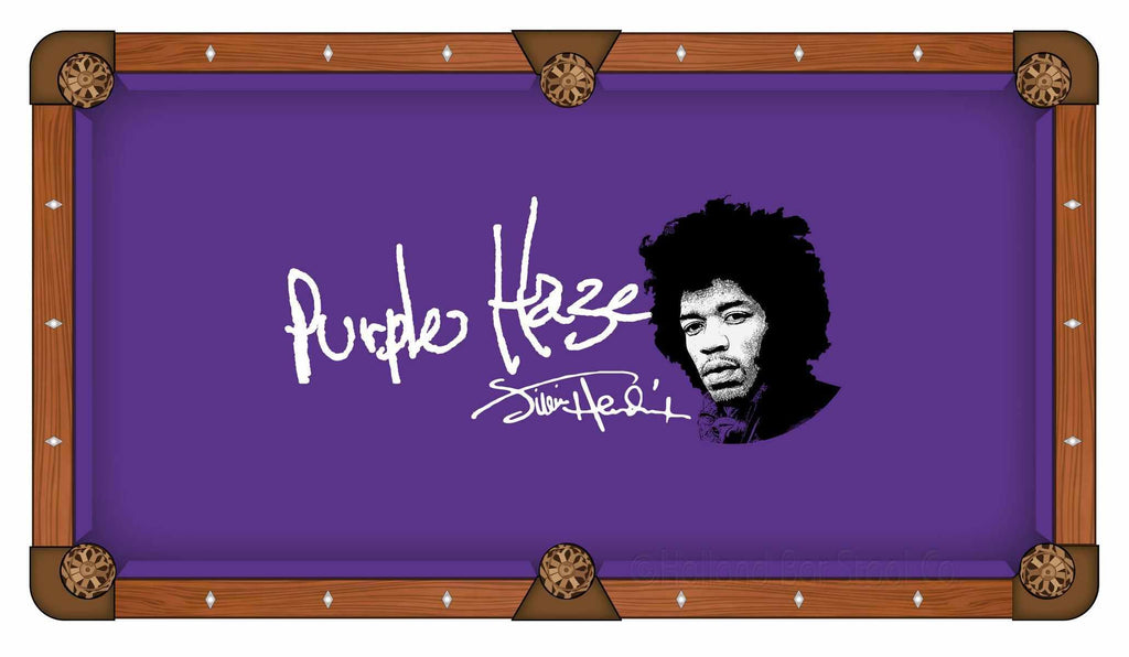 Jimi Hendrix - Purple Haze 8' Pool Table