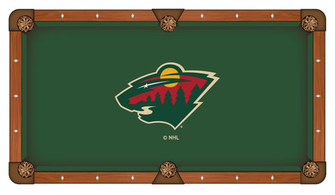 Minnesota Wild Pool Table Cloth