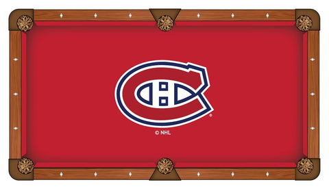 Montreal Canadiens Pool Table Cloth
