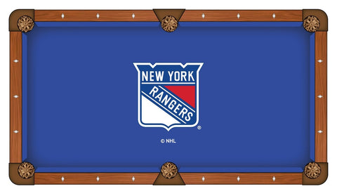 New York Rangers Pool Table Cloth