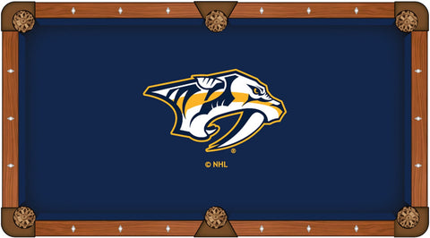 Nashville Predators Pool Table Cloth