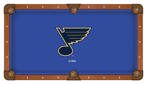 St Louis Blues Pool Table Cloth
