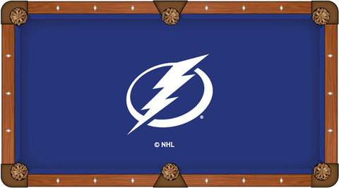 Tampa Bay Lightning Pool Table Cloth