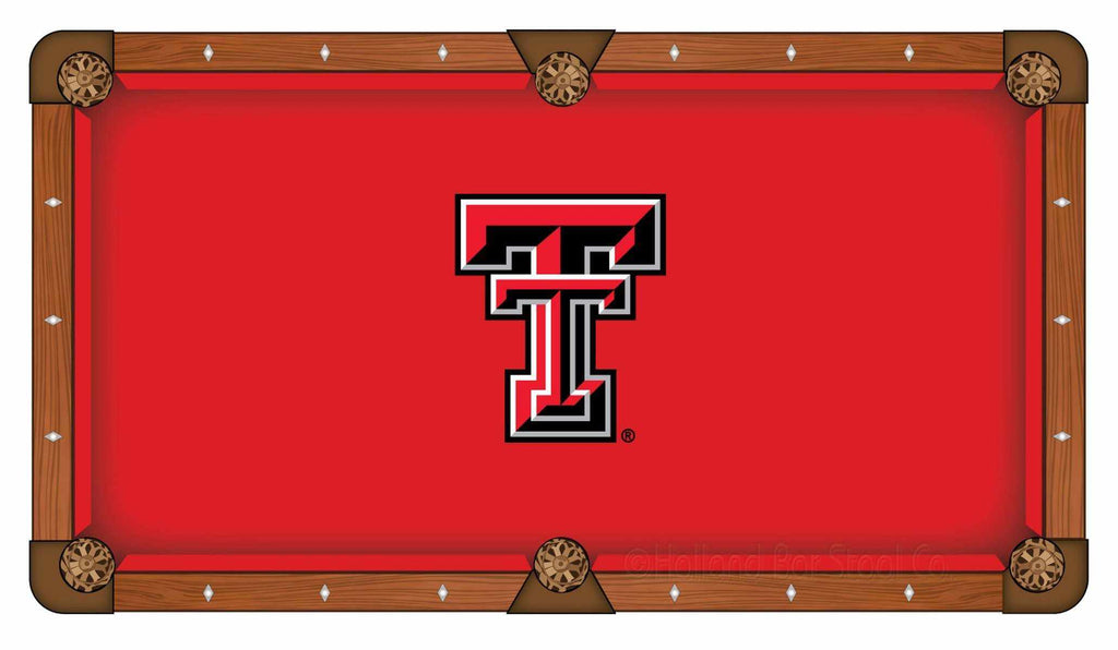 Texas Tech 8' Pool Table