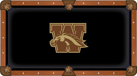 Western Michigan Pool Table Cloth