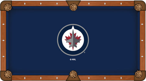 Winnipeg Jets Pool Table Cloth