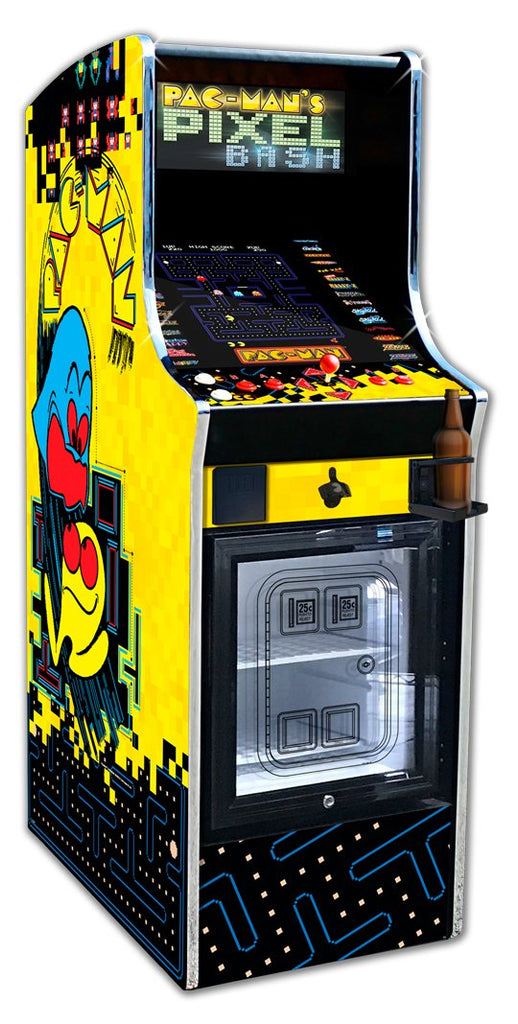 PAC-MAN PIXEL BASH CHILL CABINET
