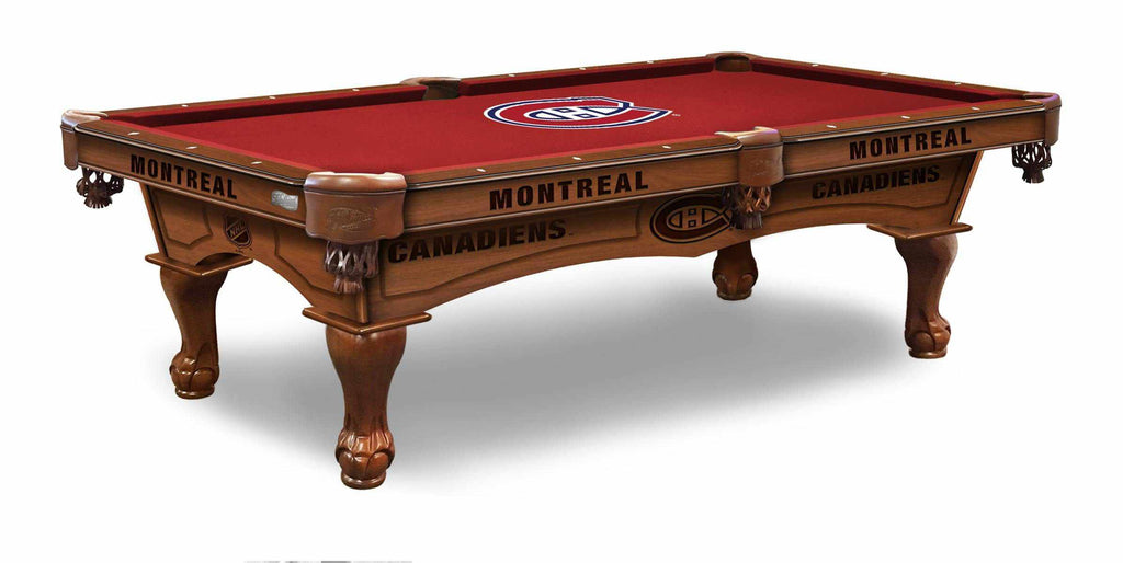 Montreal Canadiens 8' Pool Table