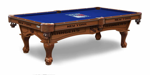 Image of New York Rangers 8' Pool Table