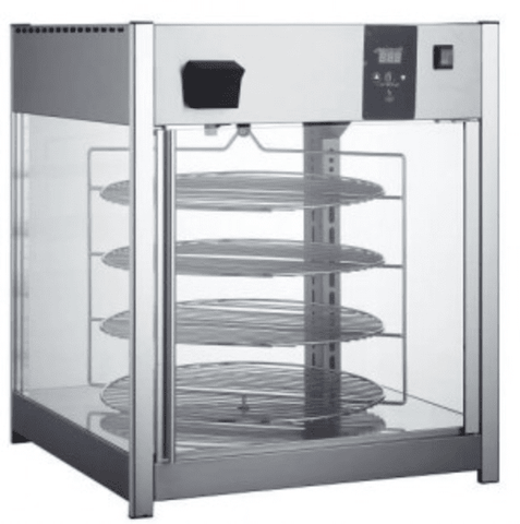 ROTATING PIZZA DISPLAY 158 LITER
