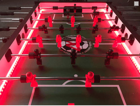 Warrior LED Enhanced Professional Foosball Tables