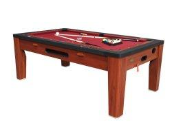 Berner Billiards 6 in 1 Multi Game Table in Cherry