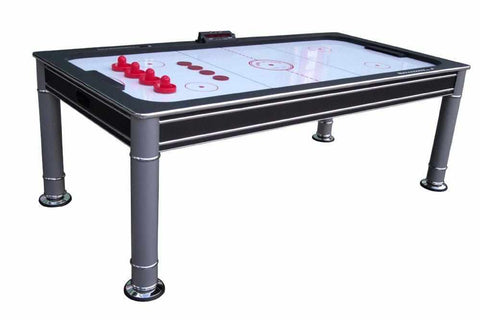 Image of Berner Billiards The Cosmopolitan 7 foot Air Hockey