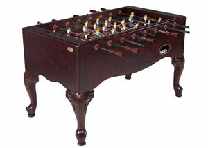 Furniture Style Foosball Table in Mahogany
