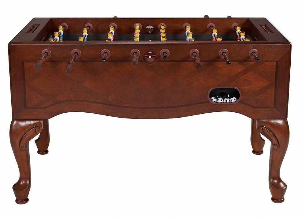 Furniture Style Foosball Table in Walnut
