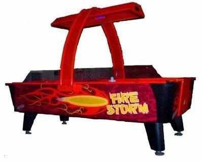Image of 8 foot Fire Storm Home Air Hockey Table