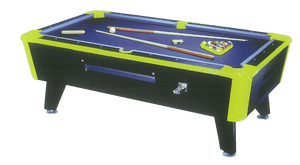 GREAT AMERICAN NEON LITES NON-COIN POOL TABLE