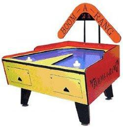 GREAT AMERICAN BOOM-A-RANG AIR HOCKEY TABLE W/ ELECTRONIC SCORING
