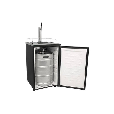 20 Inch Wide Kegerator and Keg Beer Cooler for Full Size Kegs