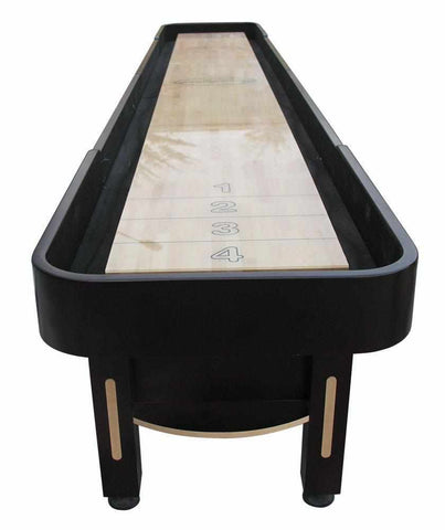 Image of Berner Billiards The Majestic 16 foot Shuffleboard Table in Mahogany