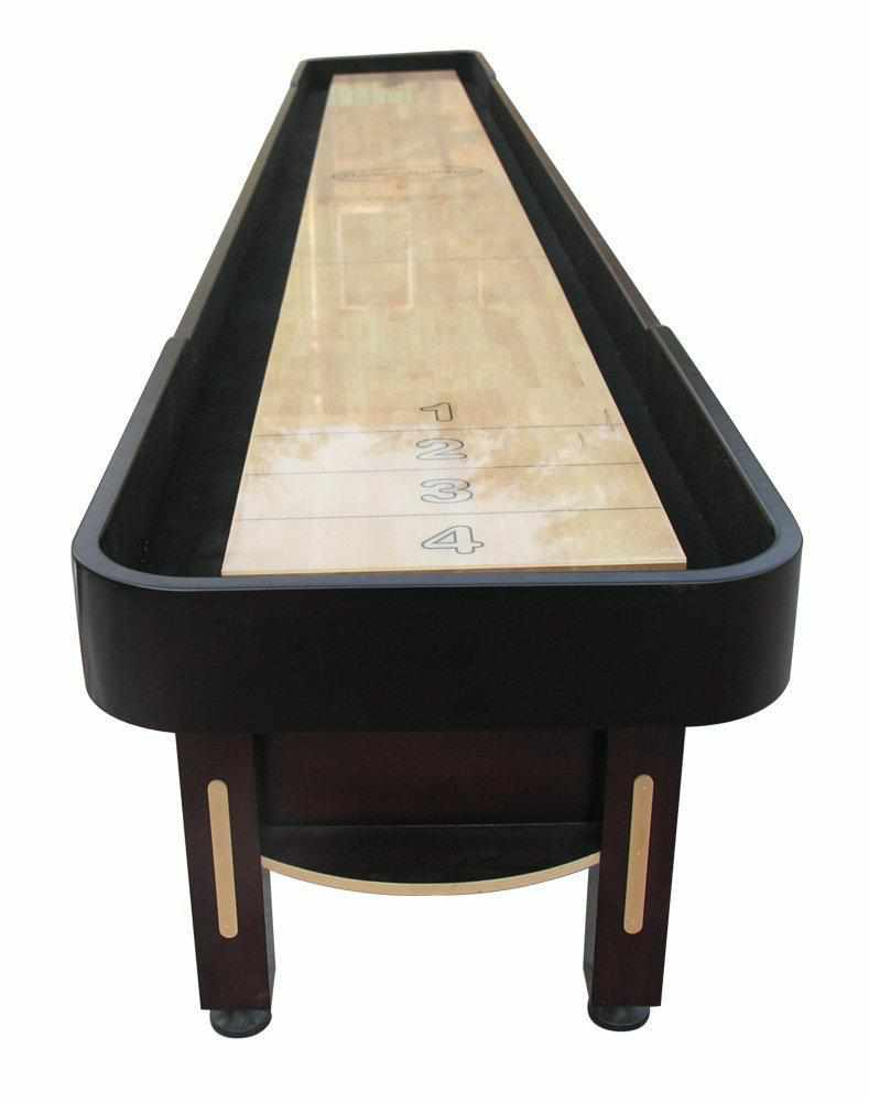 Berner Billiards The Majestic 18 foot Shuffleboard Table in Mahogany