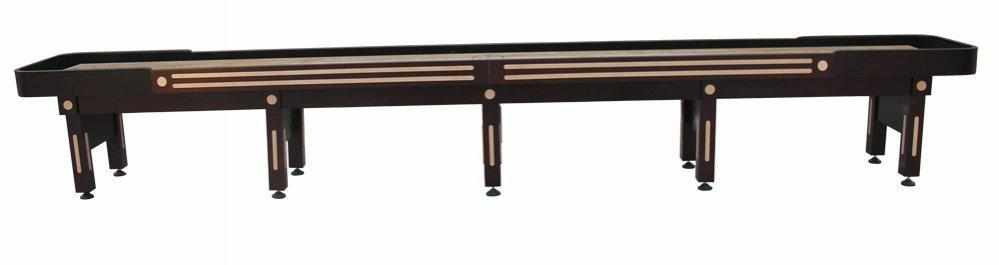 Berner Billiards The Majestic 20 foot Shuffleboard Table in Mahogany