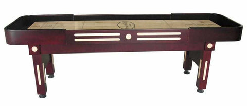 Image of Berner Billiards The Majestic 9 foot Shuffleboard Table in Mahogany