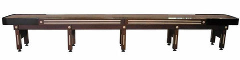 Image of Berner Billiards The Majestic 20 foot Shuffleboard Table in Walnut