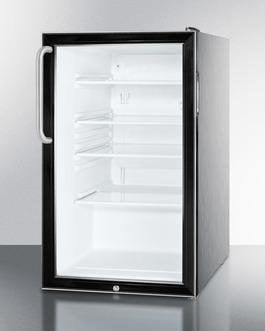 Image of Summit 20 Inch4.1 Cu. Ft. Compact All-Refrigerator Black SCR500BL7CSS