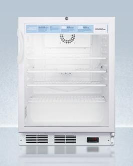 Image of AccuCold 24 Inch5.5 Cu. Ft. Compact All-Refrigerator White SCR600LPROADA