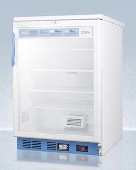 Image of Summit SCR600LBIMED2 Commercially List Built-In Undercounter Glass
