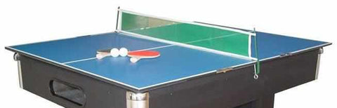 Mini Table Tennis Conversion Top in Blue
