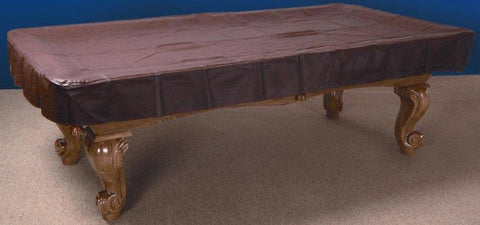 7, 8 or 9 foot Naugahyde Pool Table Cover in Brown, Black or Burgundy