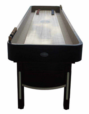 Berner Billiards The Premier Shuffleboard Table in Mahogany