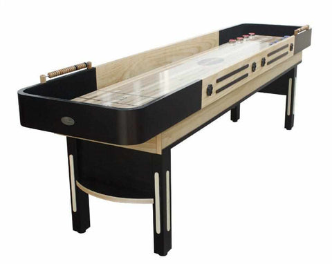 Image of Berner Billiards The Premier Shuffleboard Table in Espresso