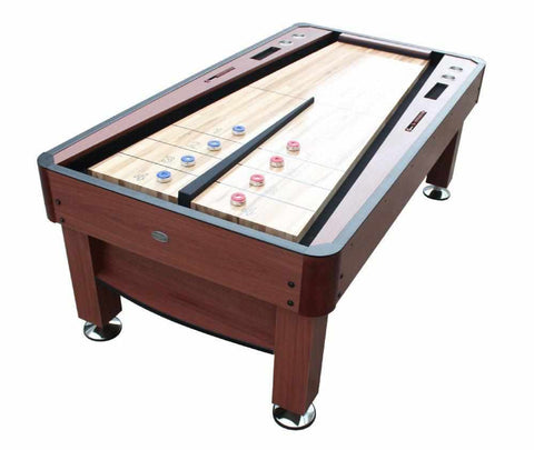 Image of The Rebound Shuffleboard Table in Cherry