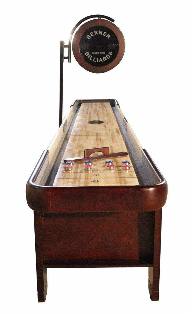 Berner Billiards The Retro 18 foot Shuffleboard Table
